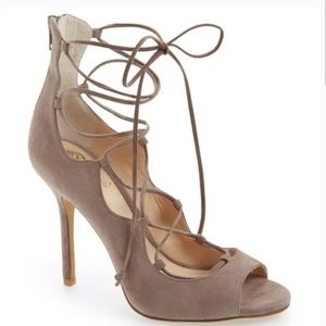 Vince Camuto Lace Up Heels Size 7.5